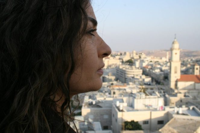 Leila Sansour prepares to return to Bethlehem
