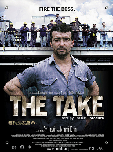 Naomi Klein's 'The Take' – 22nd June – 7.30pm FREEEVENT