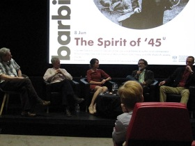"Event: Screening and panel discussion of ""The Spirit of '45"""