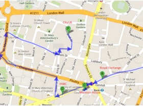 Event: City of London walk and talks