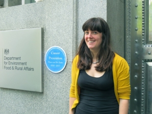 Maria Arnold from Client Earth at DEFRA (Helen Lynn)
