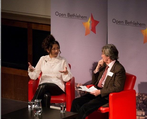 Open Bethlehem at the Royal Geographical Society with Melvyn Bragg