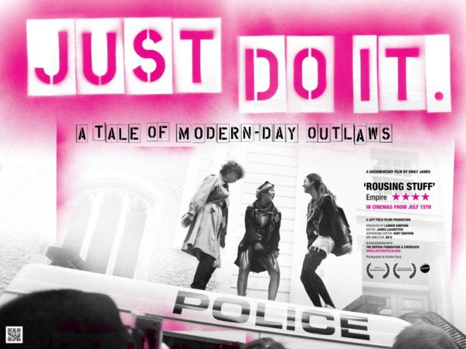 Screening of  'Just Do It' – Monday 4th July – The Lexi Cinema, 8pm