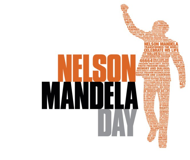 Marking Mandela Day 18 July 2017