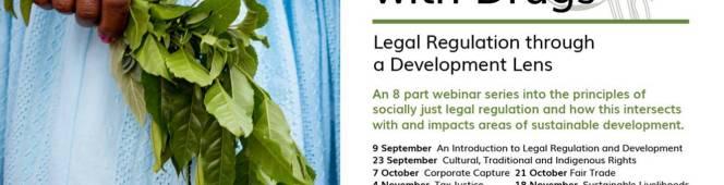 Upcoming (Groundbreaking) Webinar Series We're Keen To Share In A World (Awash) WithDrugs